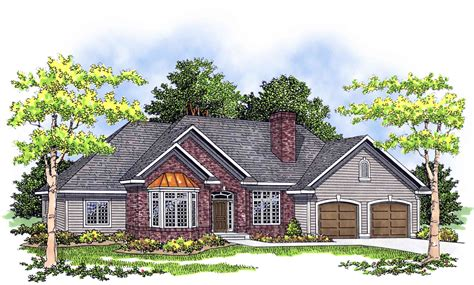 traditional ranch house plans traditional ranch with alternate exteriors 8957ah
