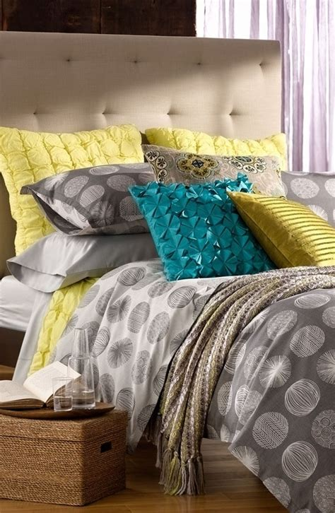 teal and yellow bedroom ideas grey yellow teal bedding i m in with these three