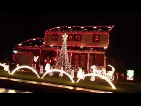 pwtorch com pic new wwe house show set new jersey christmas house light show set to gangnam style