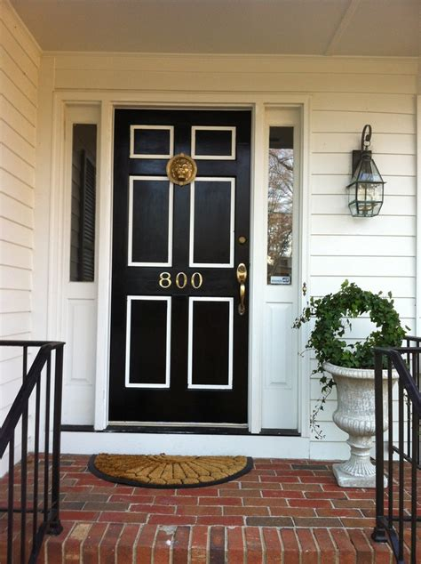 White Front Doors Black And White Front Door Makeover Front Door Ideas White Front Doors Front