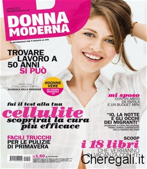 e donna rivista cione omaggio con rivista donna moderna crema