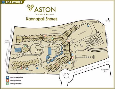 kaanapali resort map map layout aston kaanapali shores