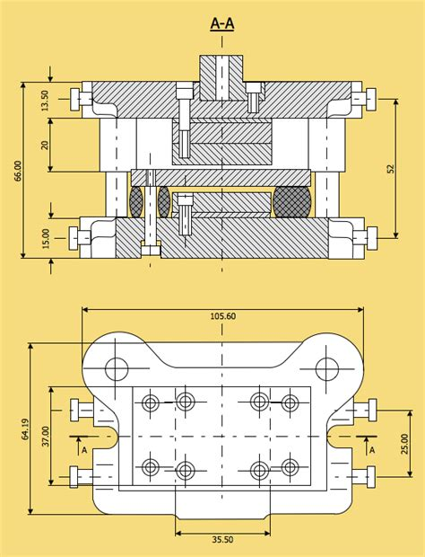 technical diagram software mechanical drawing software