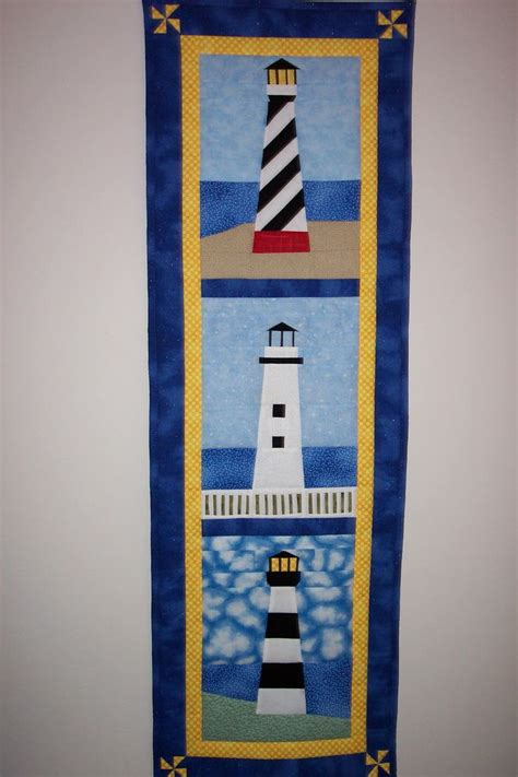 20 best lighthouse quilts images on quilt