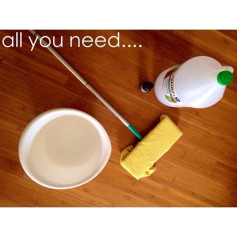 Diy Floor Cleaning Solution by Diy Bamboo Floor Cleaning Solution The Help