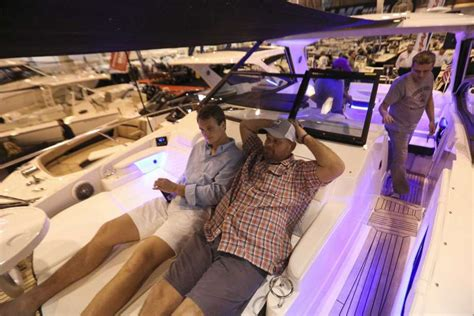 houston boat show sales higher attendance at houston boat show buoys sales