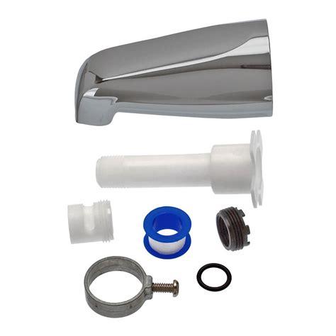 Danco Shower Diverter by Universal Tub Spout W O Diverter In Chrome Danco
