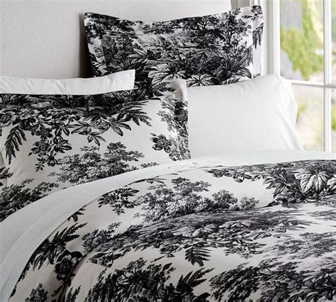 black toile bedding black and white toile bedding classic home bedroom