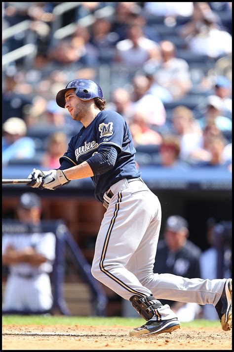 ryan braun swing yankees host brewers danny wild