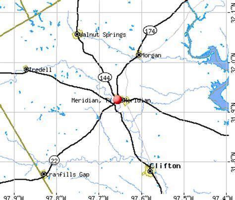 meridian texas map meridian texas tx 76665 profile population maps real estate averages homes statistics