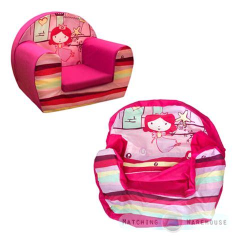 sitz sofa kinder kinder bequem weichschaum stuhlbezug nur