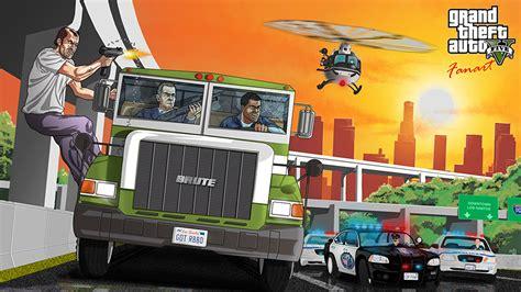wallpaper game gta v wallpaper gta 5 grand theft auto trucks games vector graphics
