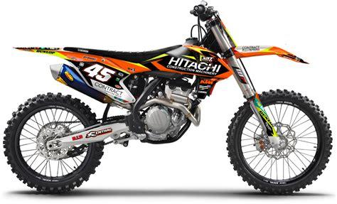 ktm dekor diller powerparts enjoy mx motocross dekore f 252 r ktm