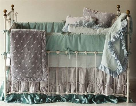 Wrought Iron Cribs by Two Bed Skirts Wrought Iron Crib And Babies