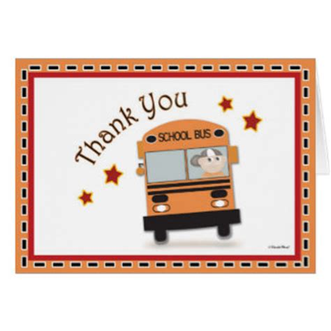 Thank You Letter After For Driver School Driver Cards Photocards Invitations More