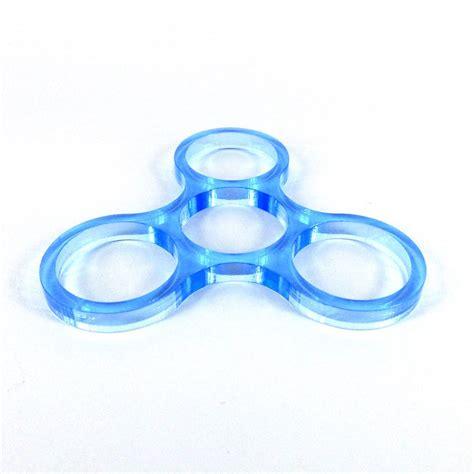 Fidget Edc Spinner acrylic fidget finger spinner edc desk focus ebay
