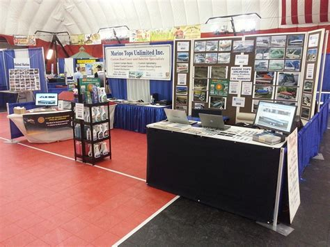 central wisconsin boat show marine tops at the central wisconsin boat show in 2014