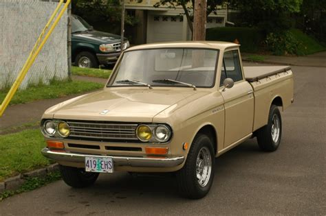 datsun pickup near twin of the 1969 datsun 1300 pickup i drove as a