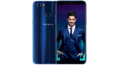 Oppo F5 64 Gb Limited Edition oppo f5 sidharth limited edition launched in dashing blue