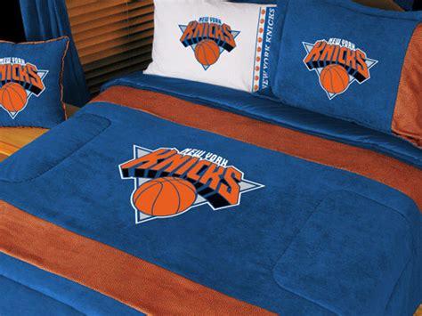 knicks bedroom new york knicks mvp microsuede comforter