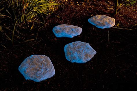 Glow Rocks Garden Easy Diy Pathways With Glow In The Rocks S Magazine By