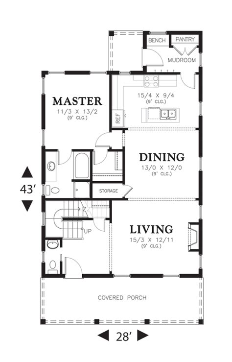 house plans with kitchen in front house plan 21114 the jasmine