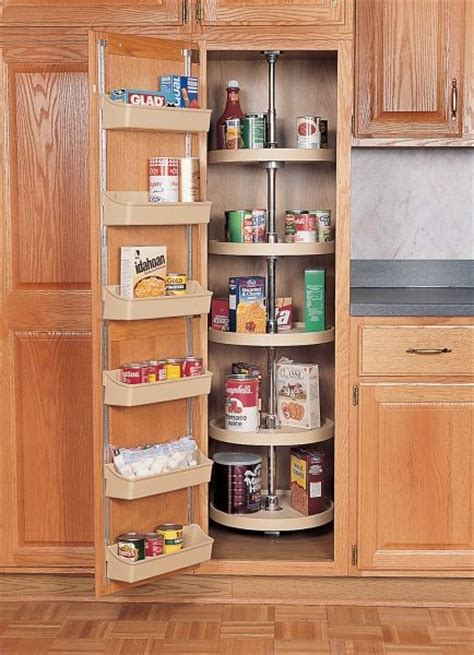 full circle pantry lazy susan almond  shelf