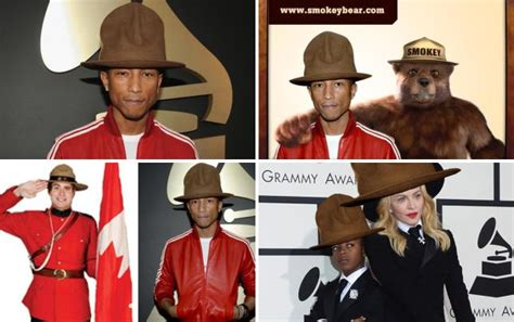Pharrell Hat Meme - kim kardashian my dress caught fire and pharrell saved my life the hollywood gossip