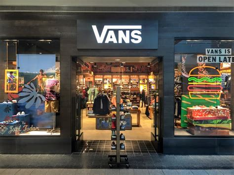 sneaker shops usa sports footwear company vans now open at destiny