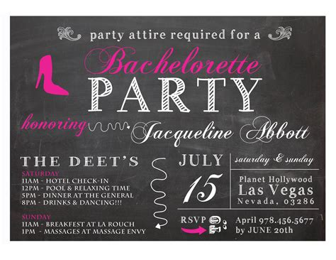Bachelor Party Invitations Party Invitations Templates Bachelorette Invitation Template