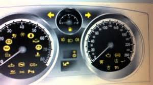Vauxhall Zafira Dashboard Lights Vauxhall Zafira Dashboard Warning Lights Symbols What