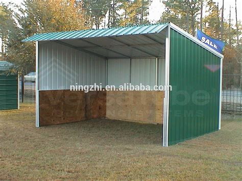 Sheds Shelters by Prefab Metal Barn Animal Barn Shed Shelter Buy