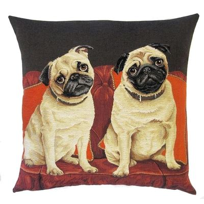 pug sofa pugs on sofa tapestry cushions tapestry cushions dogs