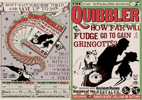 printable quibbler cover contraportada quibbler by gamma ray burst on deviantart