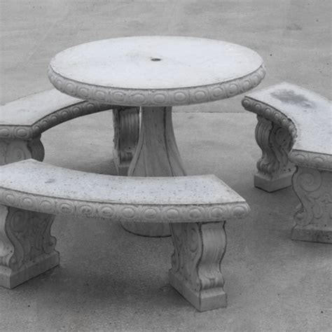 concrete picnic table and benches tankersley concrete company inc lewisburg tn