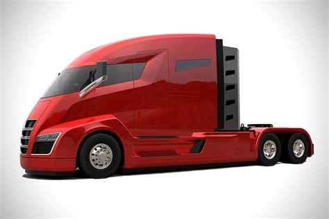nikola electric semi truck image gallery nikola trucks