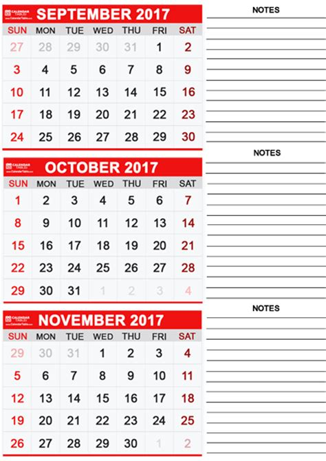 Calendar 2017 November And October Printable October 2017 Calendar Calendar Table Calendar