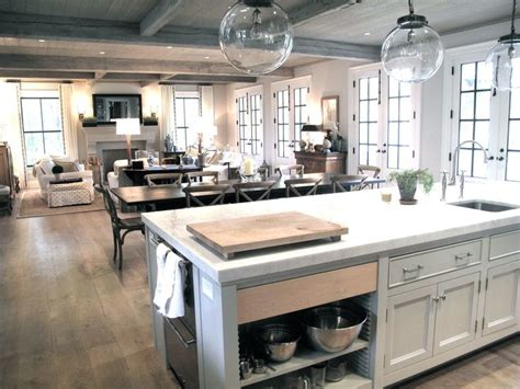 Kitchen Design Square Room 1000 Ideas About Kitchen Living Rooms On Pinterest Kitchen Living Open Floor Plans And