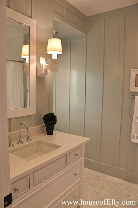 bathroom paneling ideas board and batten wood paneling design ideas