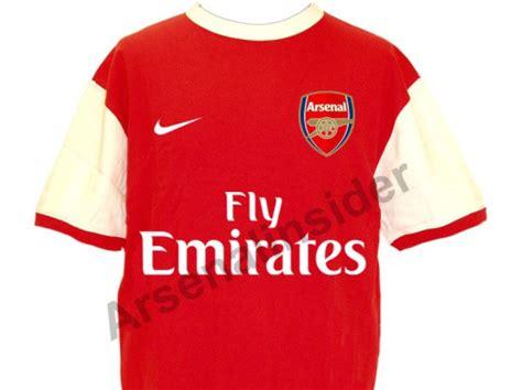 baju baru arsenal untuk musim 2010 2011