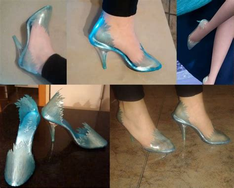 diy elsa shoes frozen elsa shoes by yurai elsa and
