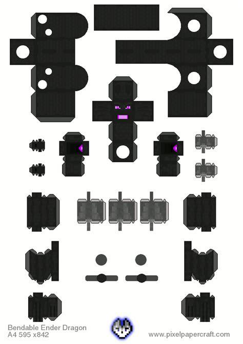 Papercraft Minecraft Ender - papercraft minecraft enderdragon www pixshark