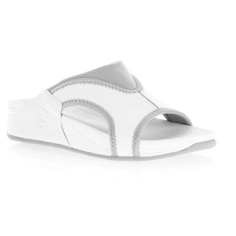 danskin sandals danskin now womens enchant slide toning fit sandals by