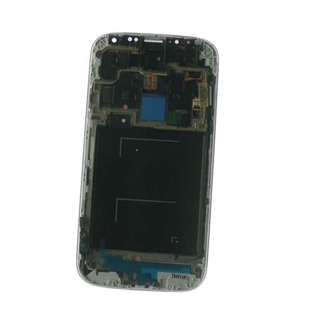 lcd display with touchscreen glass and black samsung galaxy s4 i9500 chassis