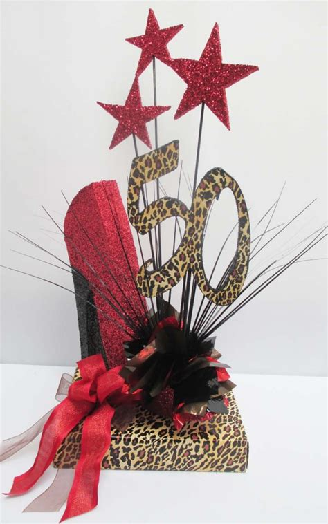 High Heel Shoe Table Decorations by Birthday Centerpieces With High Heeled Shoe Designs By Ginny