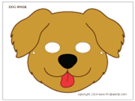 printable mask of a dog dog mask printable templates coloring pages