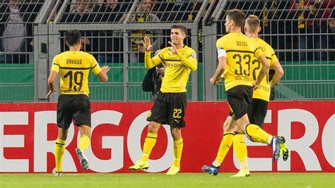 christian pulisic goal union berlin borussia dortmund vs fc union berlin football match