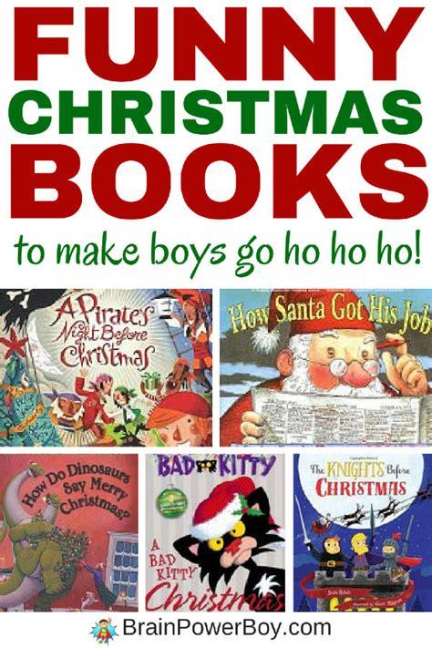 funny christmas books that will make boys go ho ho ho