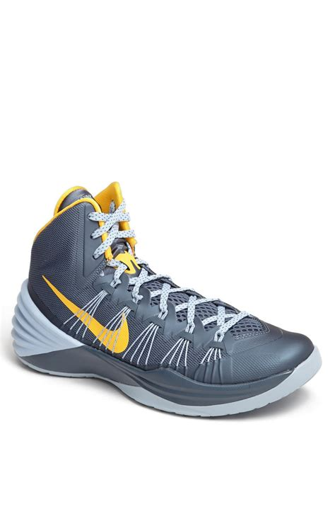 hyperdunk basketball shoes nike hyperdunk basketball shoe in blue for armory