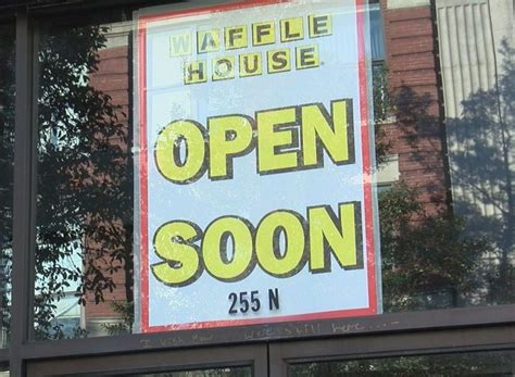 is waffle house open work underway at downtown wilmington waffle house wway tv